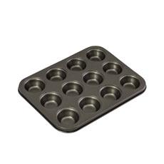 Non Stick 12 Cup Mini Muffin Pan 26x20x2cm