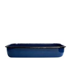 Bialetti Enamel <b>Roasting Pan</b> 40x25x7.5cm Blue