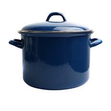 Bialetti Enamel Stockpot 24cm - 7.5L Blue