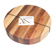 Big <b>Chop</b> Derwent River Round Cutting <b>Board</b> 33x4cm