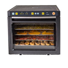 Savana 6 Tray Dehydrator Black