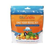 Bluapple Classic Fruit & Vegetable Saver One Year Satchel Refill <b>Kit</b>