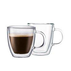 Bistro Double Wall Mug 300ml Set of 2