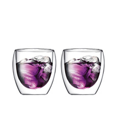 Pavina 2pc Double Wall Glasses 250ml