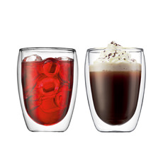 Pavina 2pc Double Wall Glasses 350ml