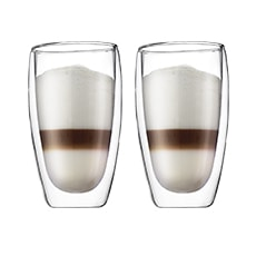 Pavina 2pc Double Wall Glasses 450ml