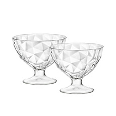 Diamond 2pc Dessert Bowl 360ml