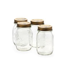 Quattro Stagioni Storage Jars 500ml 4pc Set