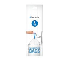 Bin Liner 20 Litre 20 Bags White