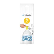 Bin Liner 3 Litre 20 Bags White