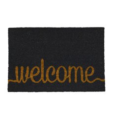 Doormat Welcome Grey 40x60cm
