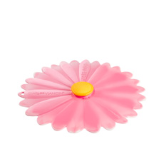 Charles Viancin Daisy Silicone Lid 20cm Pink