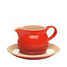 La Cuisson Gravy Boat & Saucer 450ml Red