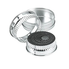 Chef Inox <b>Cutter</b> Set Large Round Crinkled 14pc