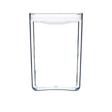Pantry Cube Container w/ White Lid 4.3L