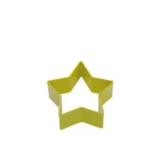 D.Line <b>Cookie Cutter</b> Star 7cm Yellow