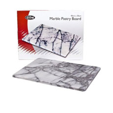 Marble Pastry Board Grey 40x30cm