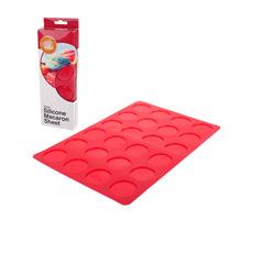 Macaron Sheet 24 Cup Red