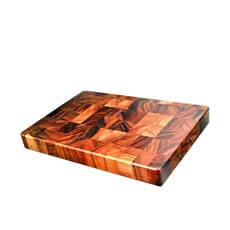Davis & Waddell Acacia End Grain Cutting <b>Board</b> 38x26x4cm