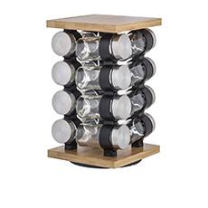 Romano 16pc Spice Jar Set with Rack
