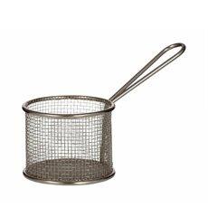 Taste Bistro Condiment Basket Round 9x7.5cm