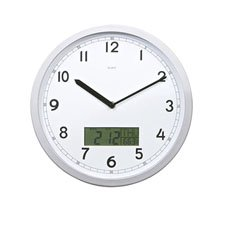 Digi-Date Calendar Wall Clock