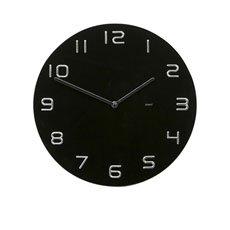 Infinity Black Wall Clock