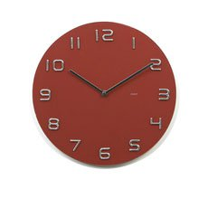 Infinity Red Wall Clock