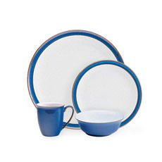 Denby Imperial Blue <b>Dinner</b> Set 16pc