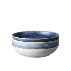 Denby Studio Blue Pasta Bowl Set of 4