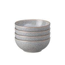 Denby Studio Grey Cereal <b>Bowl</b> 17cm Set of 4
