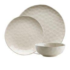 Ecology Speckle <b>Dinner</b> Set 12pc Oatmeal