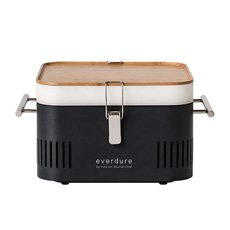 Everdure by Heston Blumenthal CUBE Charcoal Portable <b>BBQ</b> Graphite