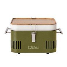 CUBE Charcoal Portable BBQ Khaki