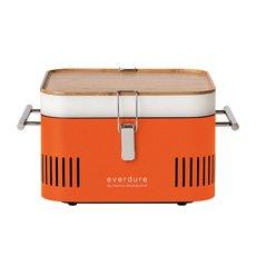 CUBE Charcoal Portable BBQ Orange