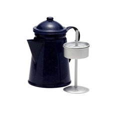 Enamel Coffee Percolator 1.2L Blue