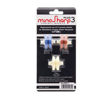 MinoSharp Replacement Wheel Set 3pc