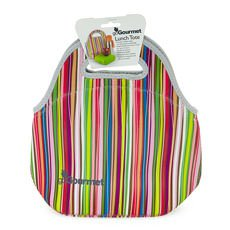 Gourmet Lunch Tote Stripes