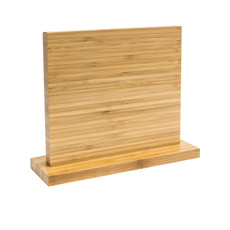 IconChef Double-Sided Magnetic <b>Knife Block</b> Bamboo