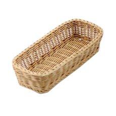 IconChef Hand Woven Bread <b>Basket</b> 28x11cm