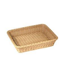IconChef Hand Woven Bread <b>Basket</b> 40x30cm