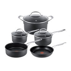 Premium Hard Anodised Induction 5pc Cookware Set