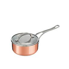 <b>Jamie Oliver</b> Premium Triply Copper Saucepan 16cm