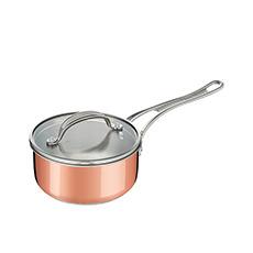 <b>Jamie Oliver</b> Premium Triply Copper Saucepan 20cm