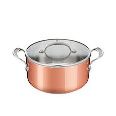 Copper Premium SS Triply Copper Stewpot 24cm