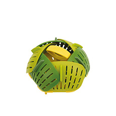 Joseph Joseph Bloom Folding <b>Steamer</b> Basket 15cm Green