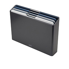 Joseph Joseph Folio 4pc <b>Chopping Board</b> Set Large Graphite