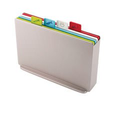 Joseph Joseph Index Regular <b>Chopping Board</b> Silver