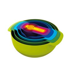 Nest 9 Plus Set Multi-Colour