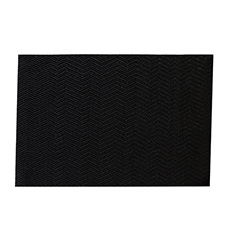 Abstract Placemat 30x45cm Black